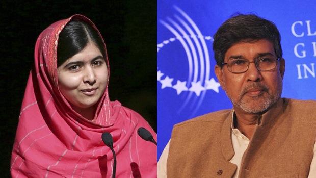 Malala och Satyarthi